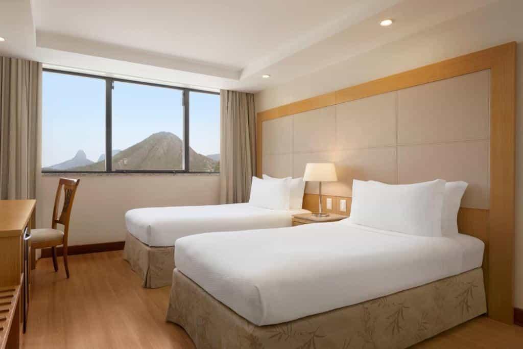 quarto do Hilton Copacabana