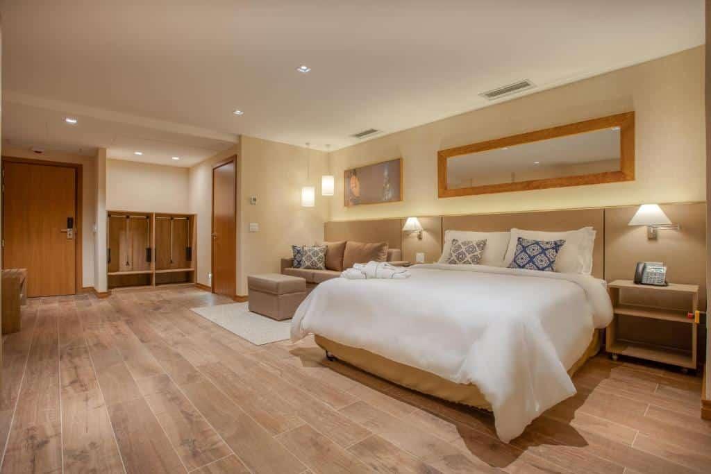suite do Wyndham Gramado Termas Resort & Spa