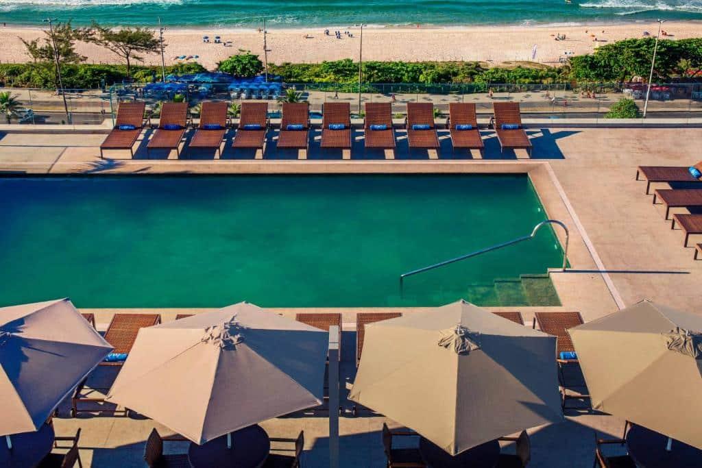 piscina do Windsor Oceânico hotel no rio de janeiro
