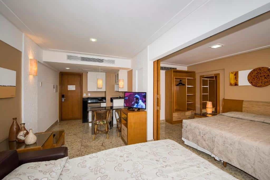 apartamento do Coral Plaza Apart Hotel