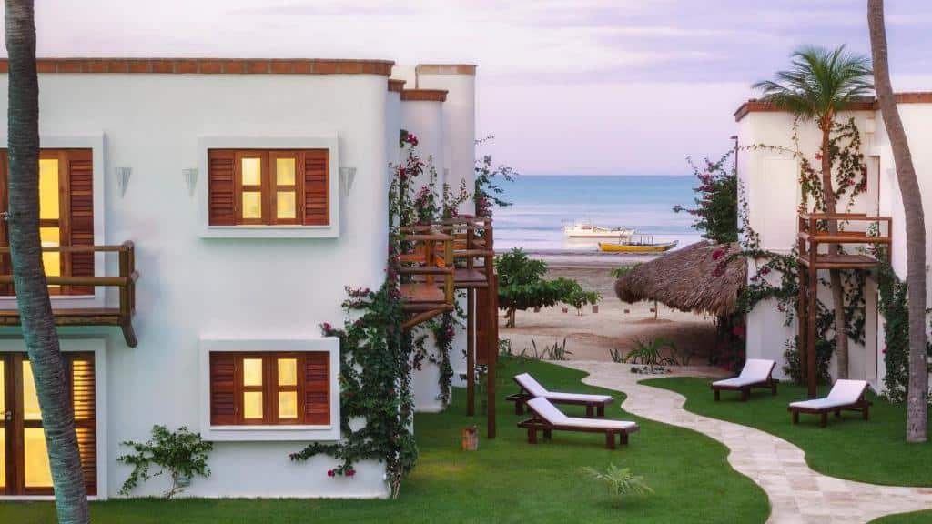 onde ficar no Blue Residence Hotel em Jericoacoara