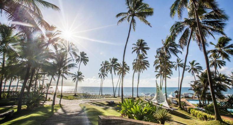 Vista de um dos resorts em Salvador, o Catussaba