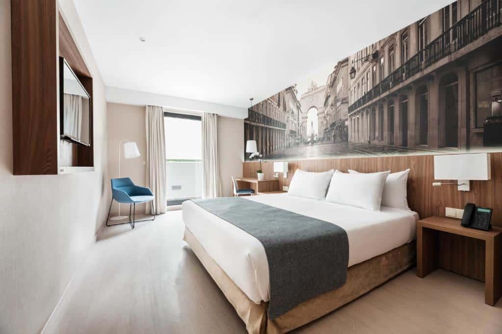 Um dos hotéis baratos em Lisboa