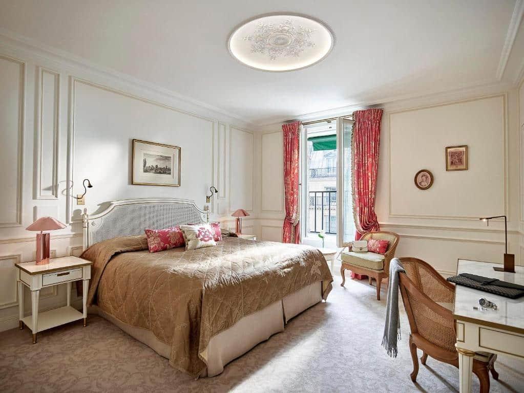 Um dos melhores hotéis de Paris