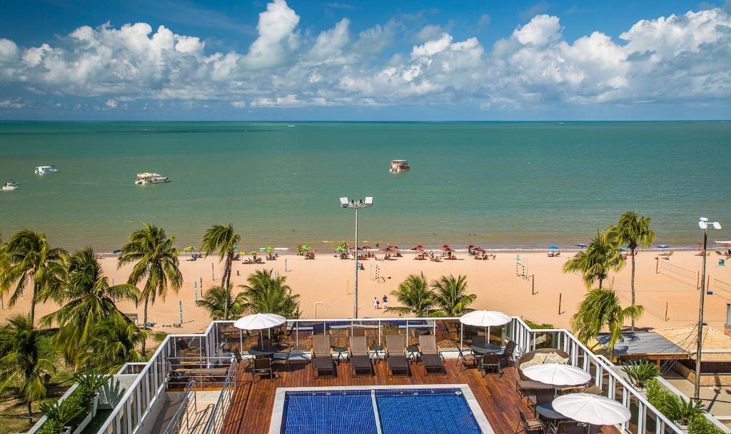 onde ficar no Laguna Praia Hotel em João Pessoa