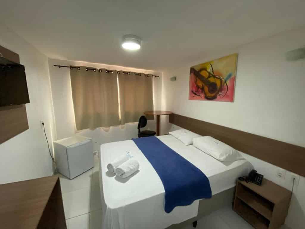 quarto do Anjos Praia Hotel