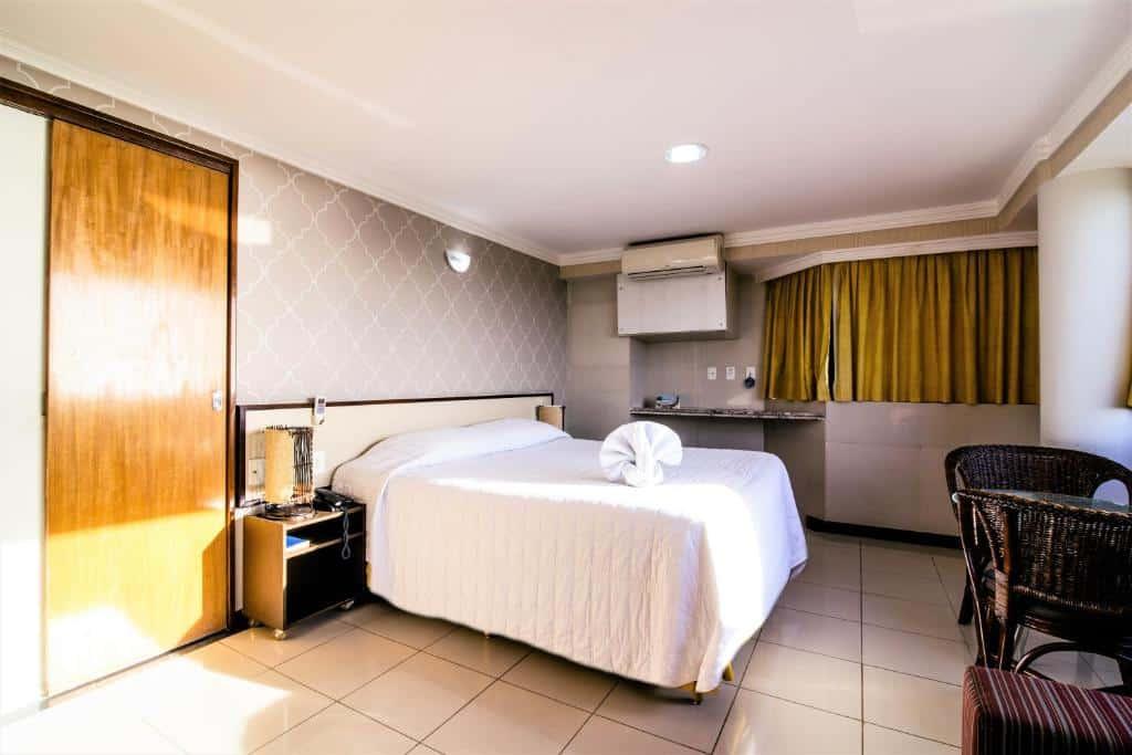 quarto do Atlântico Praia Hotel