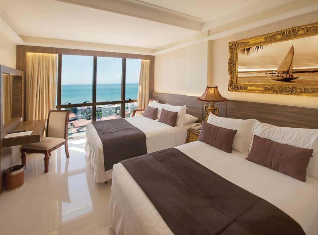 quarto do Best Western Premier Majestic Ponta Negra Beach