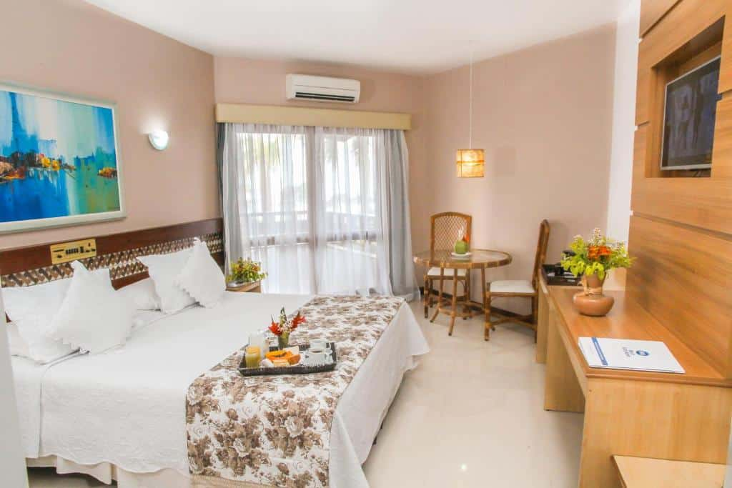 suíte do Best Western Shalimar Praia Hotel