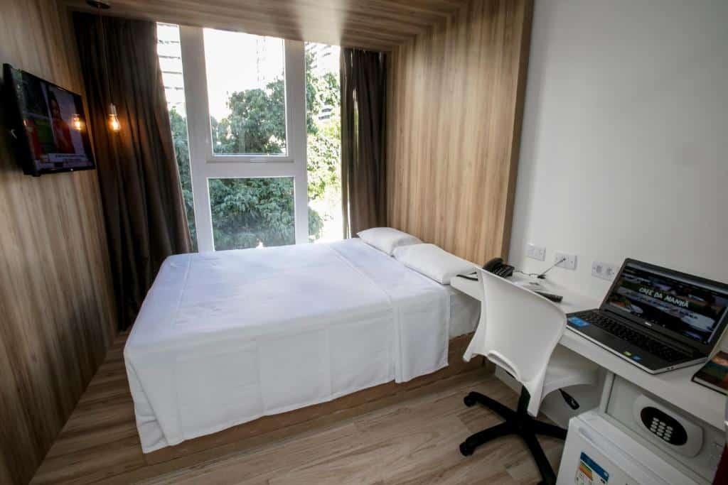quarto do Ecco Hotel Fortaleza