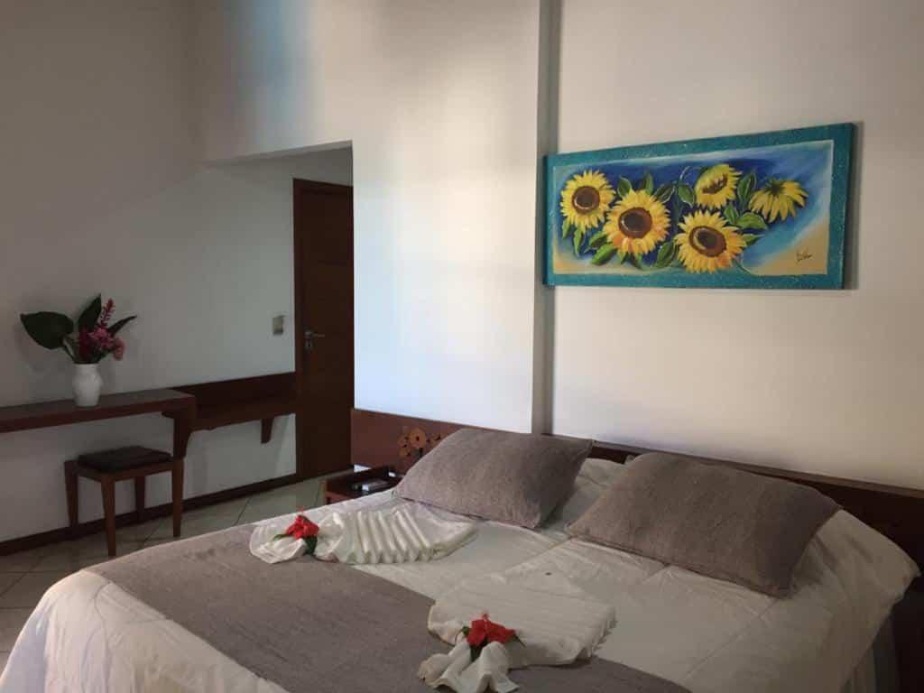 quarto em Eden Praia Hotel
