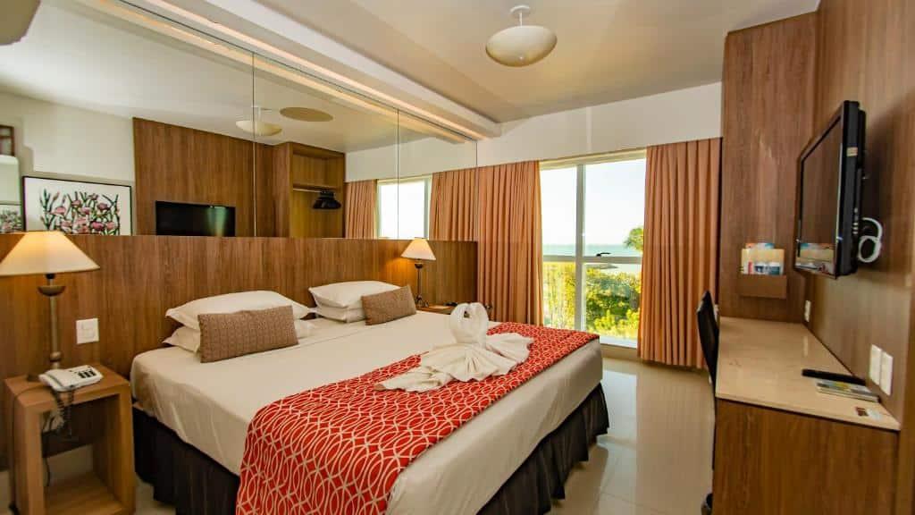quarto do Hotel Beira Mar