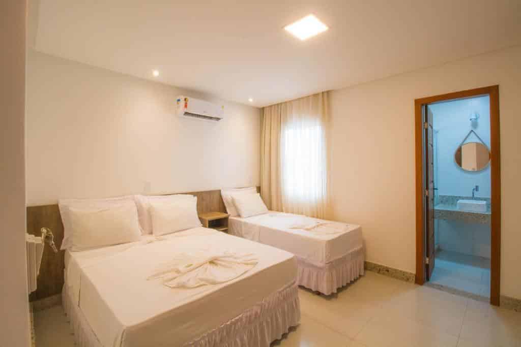 quarto do Hotel Bem Brasil