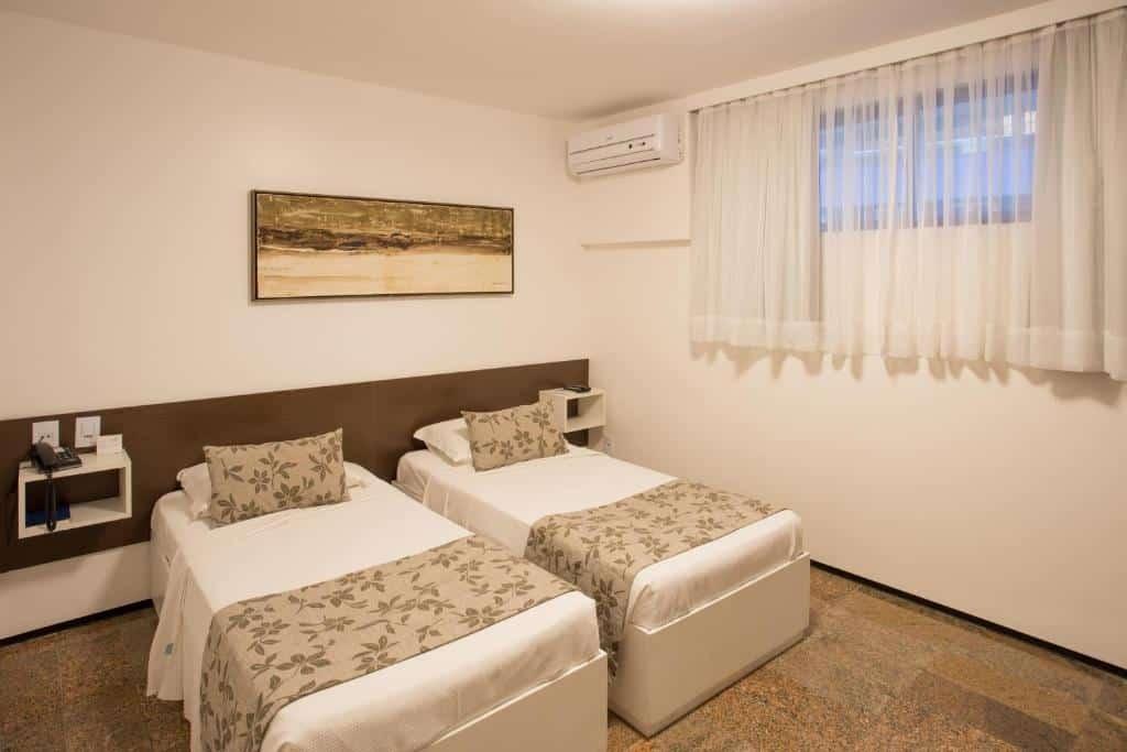 quarto do Hotel Brasil Tropical