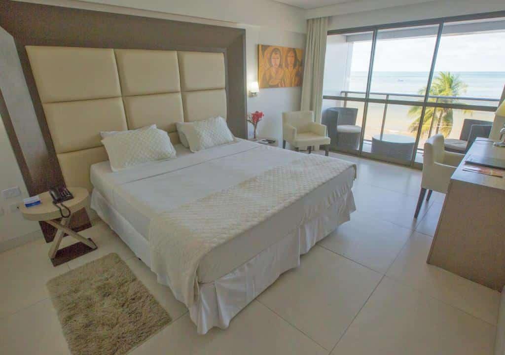 quarto do Hotel Cabo Branco Atlântico