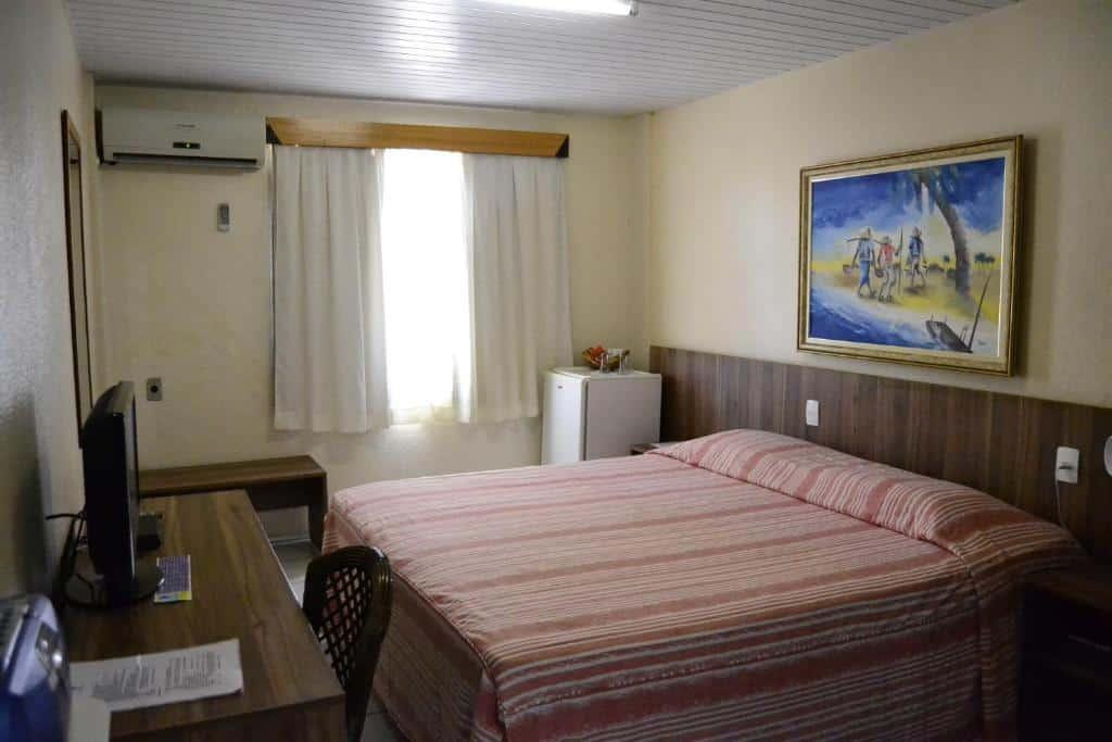 quarto do Hotel Casa de Praia