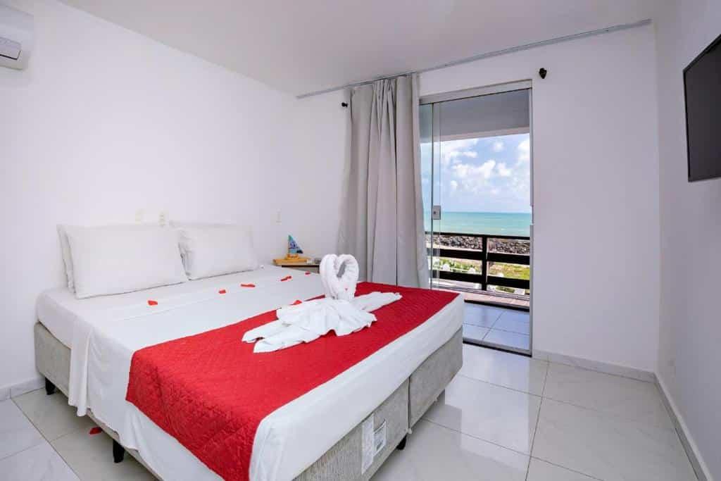 quarto do Hotel Paraíso Natal