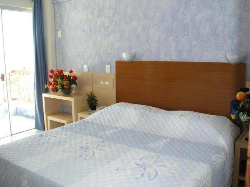 quarto do Hotel Pousada Azzurra