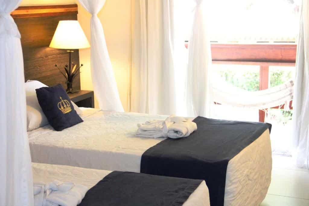 quarto do Hotel Solar do Imperador