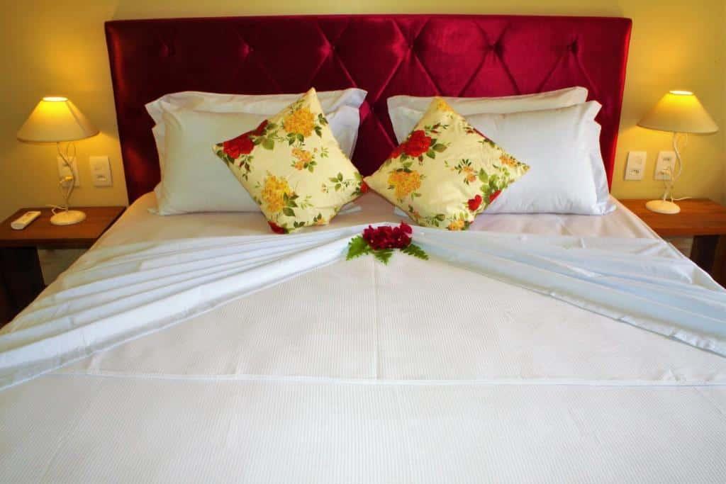 quarto do Hotel Villa Beija Flor