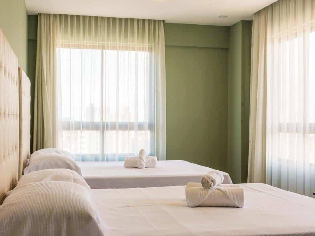 quarto do Ilusion Hotel