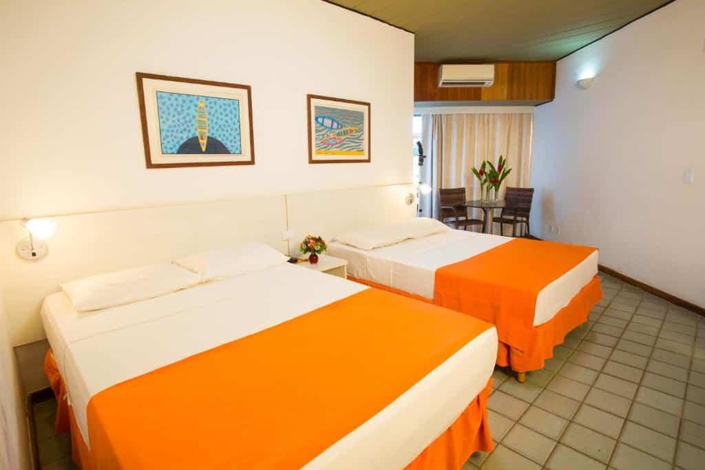 quarto do Monte Pascoal Praia Hotel
