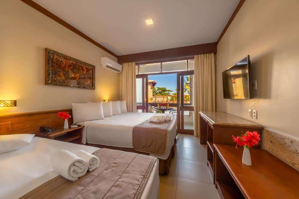 quarto do Quinta do Sol Praia Hotel
