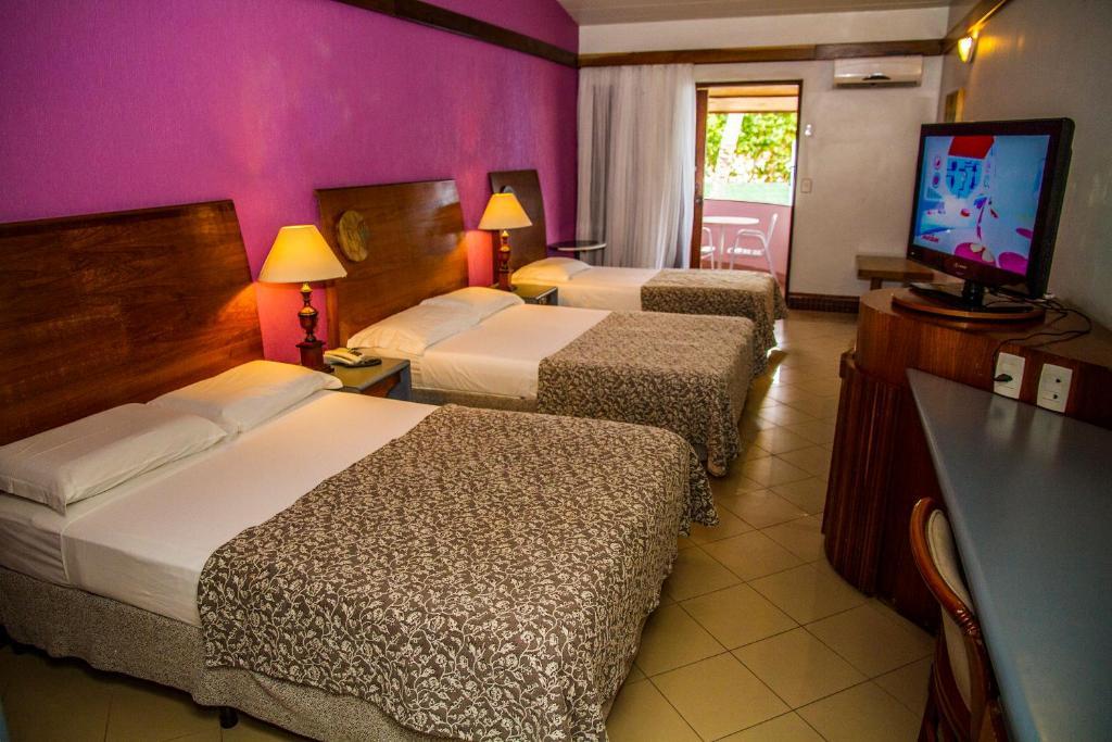 quarto do Resort Arcobaleno