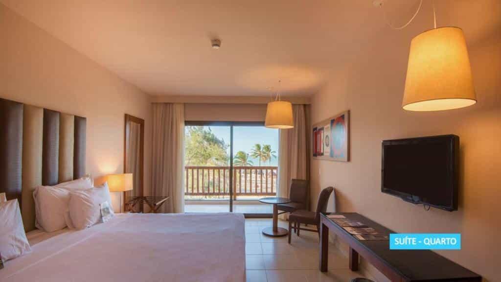 quarto do Vila Galé Resort Cumbuco