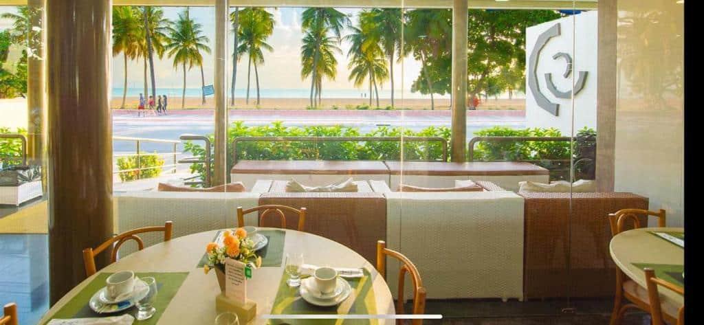 refeitório do Netuanah Praia Hotel