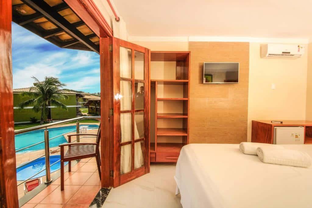 suíte do Vila Miola Hotel
