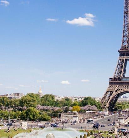 Torre Eiffel, no 7éme, ilustrando post de onde ficar em Paris