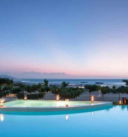 vista do Hotel Essenza em Jeri