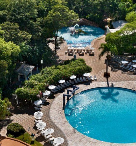 piscina do Bourbon Cataratas do Iguaçu Resort