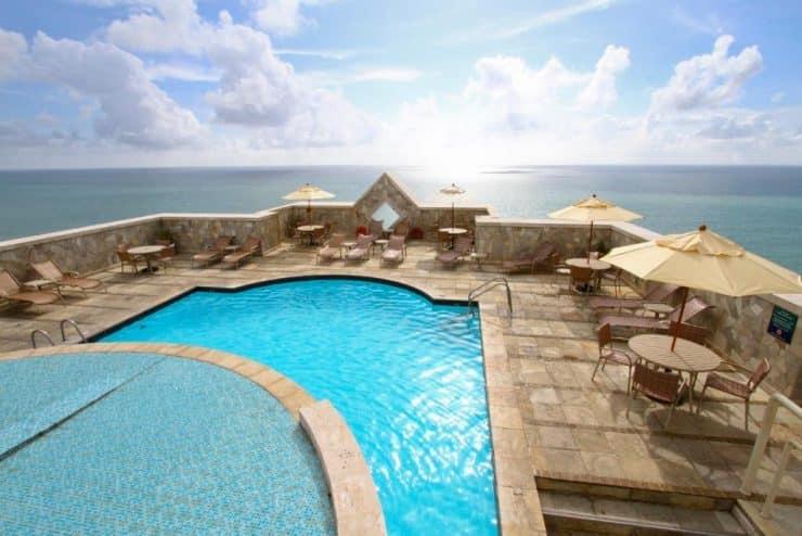 vista do Hotel Atlante Plaza em Recife