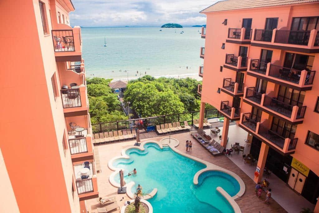 Jurerê Beach Village resort em Florianópolis