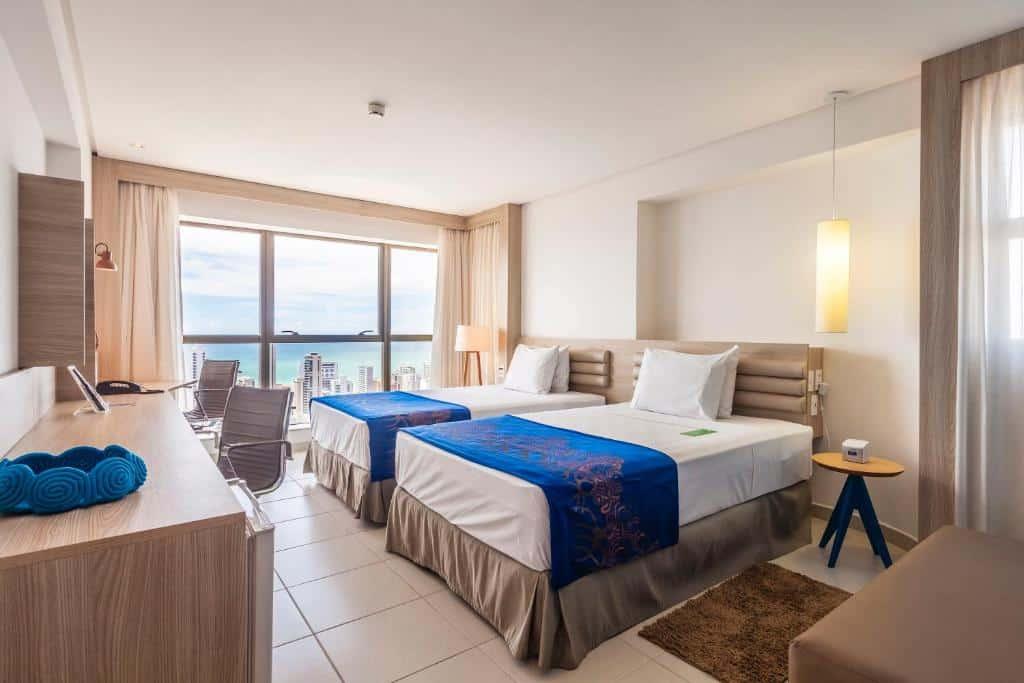 quarto do Bristol Recife Hotel & Convention
