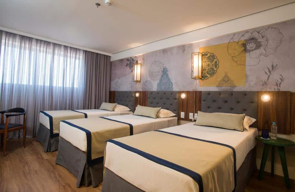 quarto do Hotel Luzeiros