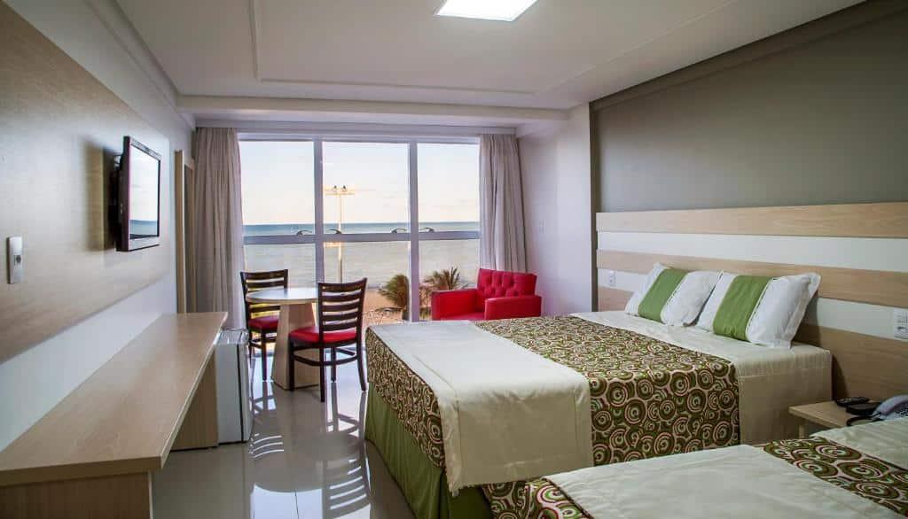 quarto do Laguna Praia Hotel