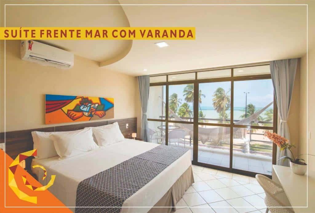quarto do Netuanah Praia Hotel