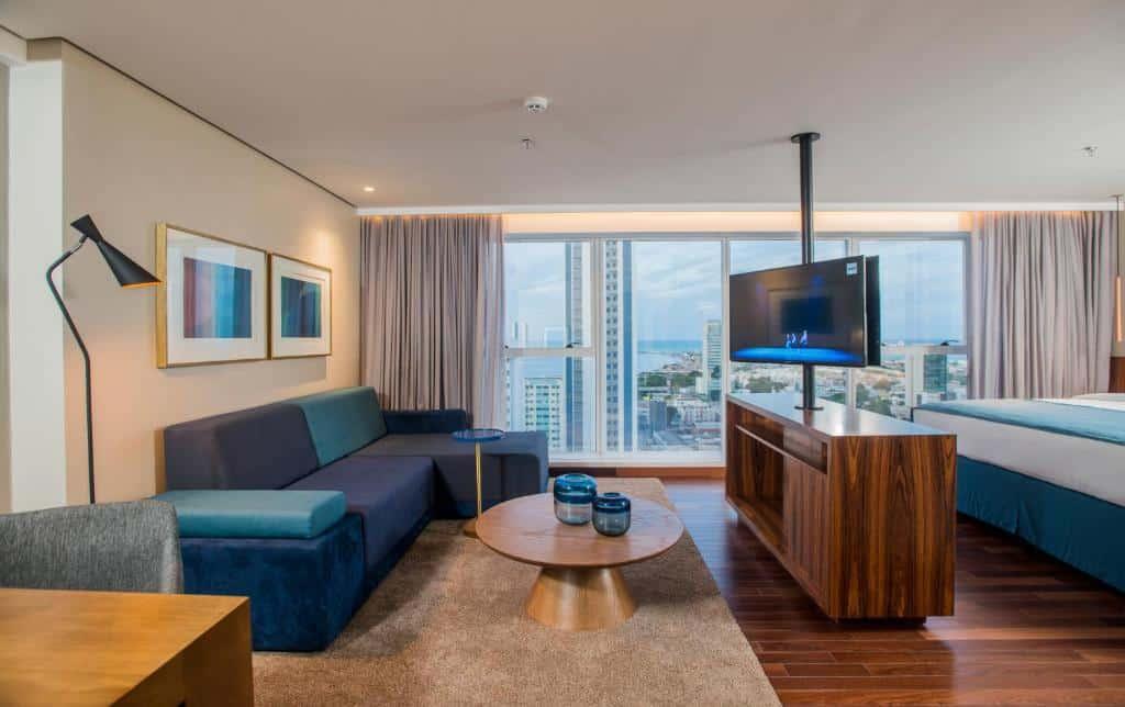 quarto do Hotel Luzeiros Recife
