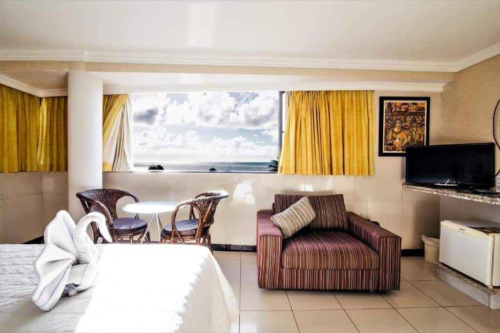 suíte do Atlântico Praia Hotel