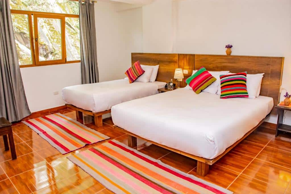 Um dos hotéis em Machu Picchu