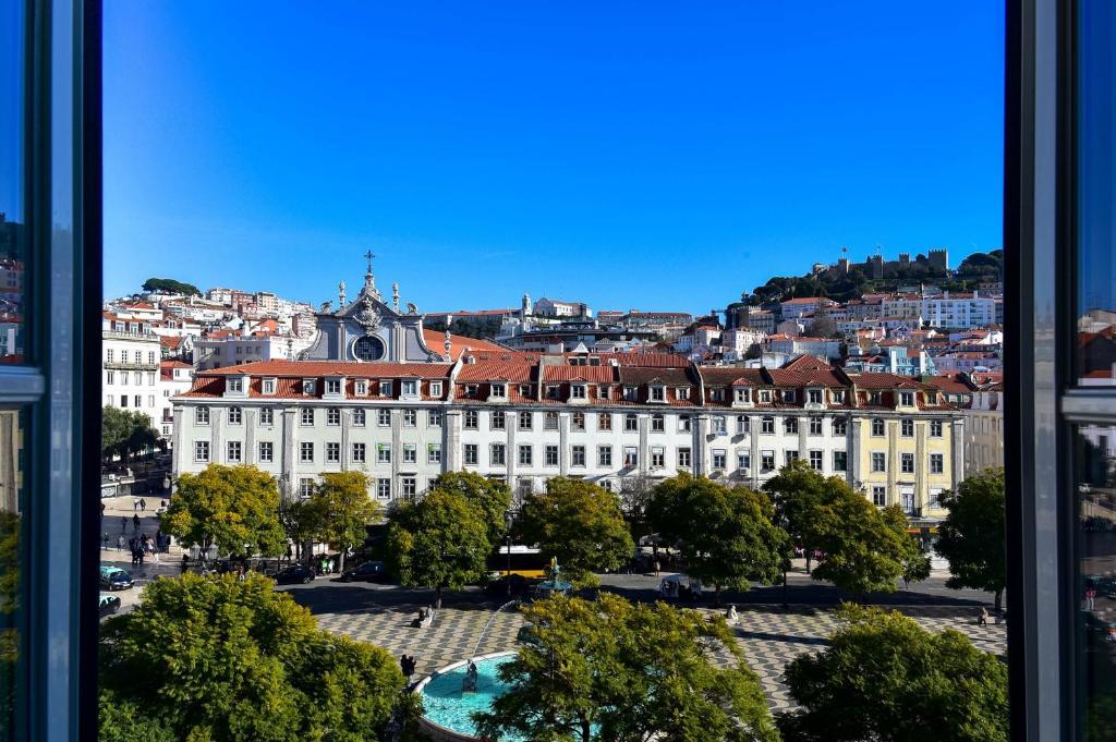 Vista de Lisboa de um dos melhores hotéis de Lisboa